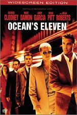 Ocean's Eleven (DVD New) Clooney*Pitt*Roberts*Damon WS
