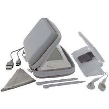 New Nintendo DS Lite Exspect Essentials Pack Carry Case Cover Earphones Silver
