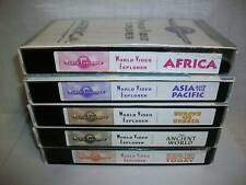 5 Prentice Hall The World Explorer Series vhs videos