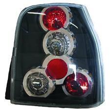 Par de faros luces traseras TUNING VW LUPO AROSA 97-00 parte inferior negro