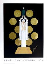 ERTE Emerald Vase Original Art Deco Poster