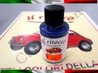 VERNICE RITOCCO SMALTO FIAT 500 CINQUECENTO D'EPOCA BLU ORIENTE COD 498 30ml