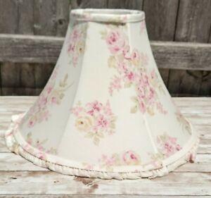 Rachel Ashwell Simply Shabby Chic Blush Beauty Pink Rose Lamp Shade Cottagecore