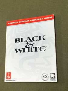 Black & White Prima's Official Strategy Game Guide Book