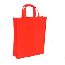 """1PC Red Reusable Non-woven Shopping Bag Folding Size40x30x10cm(15.7""""x11.8""""x3.9"""")"""