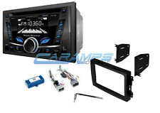New Acoustik Car Stereo Radio With Bluetooth Cd Aux Usb Inputs Install Kit Fits 2005 Dodge Durango