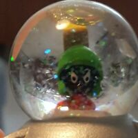 Warner Brothers Marvin the Martian Mini Snow globe Snow Globe Looney Tunes Punch