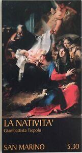 San Marino 2006 Natale il libretto