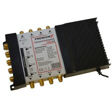 PremiumX HD TV Sat Multi Interruttore 9/8 Multi Switch Matrix 8 partecipanti switch PMSE