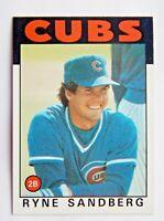 Ryne Sandberg #690 Topps 1986 Baseball Card (Chicago Cubs) VG