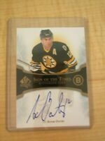 2007 SP Authentic Adam Oates Autograph - Sign Of The Times Card #ST-AO