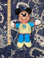 Vintage Mickey Mouse Moon Pajamas Plush
