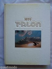 1979 LETO HIGH SCHOOL YEAR BOOK, TAMPA FLORIDA - THE TALON  UNMARKED!