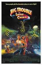 Big Trouble In Little China Poster 02 A2 Box Canvas Print