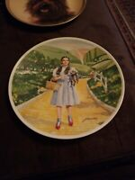 "1977 Knowles ""Over the Rainbow"" Dorothy & Toto Wizard of Oz Collector Plate COA"