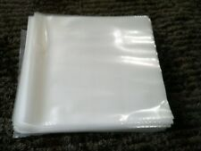 "20 LARGER PREMIUM THICK LP / 12"" PLASTIC OUTER RECORD COVER SLEEVES FOR VINYL"