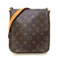 Auth LOUIS VUITTON Musette Salsa Long Strap M51387 Monogram LM0034 Shoulder Bag