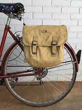 Model 1936 U.S. Musette Bag Military Surplus Style Messenger Bag Bicycle Pannier