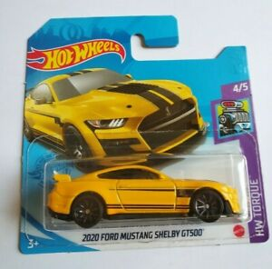 Hot Wheels 2021 - 2020 Ford Mustang Shelby GT500 - HW Torque NEW! Nuevo original
