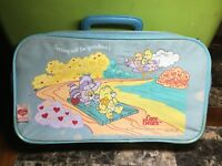 Vintage 1986 Those Characters From Cleveland Inc. Care Bears Grandmas Suitcase