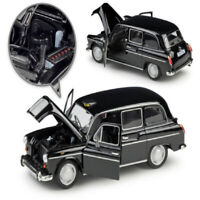 1:24 Austin FX4 London Taxi Classic Vintage Alloy Diecast Cars Models Toys Gifts
