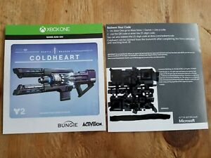 Destiny 2 Coldheart DLC for XBOX One (No Game Included)