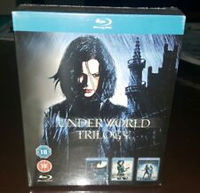 *NEW & SEALED* UNDERWORLD COMPLETE BLU RAY TRILOGY. REGION B. ACTION MOVIES!