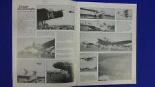 Modelo de avión Libro Vintage FARNBOROUGHS pictórico de SBAC aire muestra 1932-58 Reino Unido
