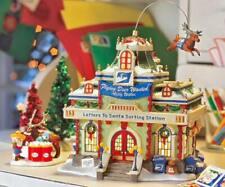 Dept 56 North Pole Letters To Santa Sorting Station 56792 Animated / Ltd Ed