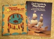 Native American Indian Hands-On Heritage & Cut and Assemble the Mayflower 2 PB