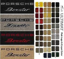Lloyd Mats Porsche Boxster Double Logo Floor Mats (1997 & Up)