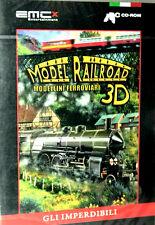 MODEL RAILROAD MODELLINI FEROOVIARI 3D  PC SIGILLATO GLI IMPERDIBILI
