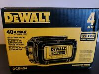 DEWALT DCB404 40V 40 VOLT MAX LITHIUM ION 4.0AH BATTERY - NEW! FAST SHIPPING