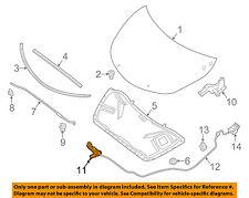 NISSAN OEM 13-16 Altima Hood-Lock Latch 656019HP0D