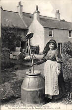 More details for channel islands. butter making # 211 by ll/levy. black & white.