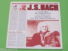 Bach - Fischer Rampal Suk Ruzickova - Brandenburgisches Konzert Nr.5# - Erato LP