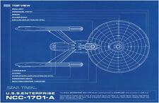 Impression encadré-Star Trek modèle USS Enterprise NCC-1701-A (Photo Poster art