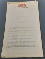 "1957 Covent Garden Opera Press Release ""The Trojans"" Berlioz Rafael Kubelik"