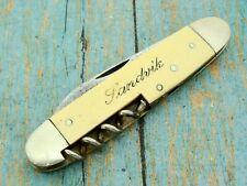 ANTIQUE SANDVIK AHLSTROM SWEDEN FOLDING CORKSCREW POCKET KNIFE BAR TOOL KNIVES