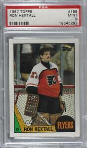 1987-88 Topps Ron Hextall #169 PSA 9 Rookie