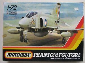 Matchbox 1/72 PK-412 Phantom FG1/FGR2 1986 Complete Model Kit   (B18)