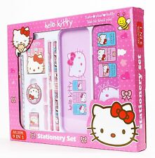 Hello Kitty Stationery Set School Educational Birthday Party Kids Gift