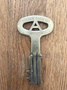 Folger Adam Co. (Joliet Illinois) prison Key