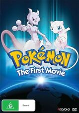 POKEMON - THE FIRST MOVIE - COLLECTORS EDITION TIN CASE -DVD - R4 - NEW & SEALED