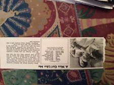 m12n ephemera 1970 film picture article a nice girl like me barbara ferris