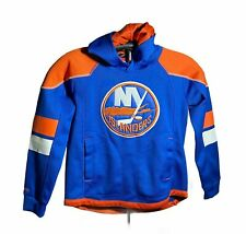 New York Islanders NHL Hoodie Reebok Face Off Collection Small 8 Used