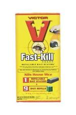 New Victor M917 Fast-Kill Mouse Rodent Killer Bait Station And Refills 9528803