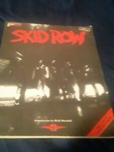 Skid Row tablature guitar book self titled Cherry Lane Tab Rare