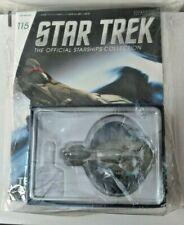 #115 Eaglemoss Star Trek Tellarite Cruiser Warship New In Bag with Magazine