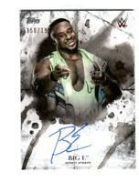 WWE Big E 2018 Topps Undisputed On Card Autograph SN 150 of 199